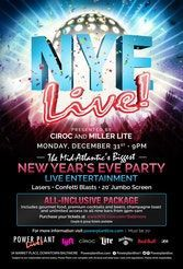 NYE Live! Baltimore at Power Plant Live