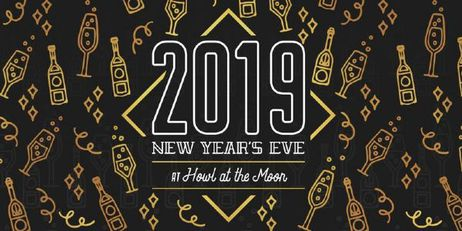 New Year's Eve 2019 at Howl at the Moon Baltimore