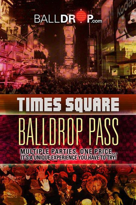 BallDrop Pass Times Square New Year's Eve