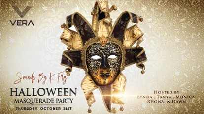 Halloween Masquerade Party @ Vera Bar & Grill