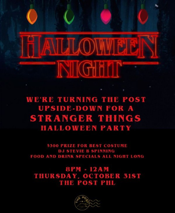 Upside Down - Halloween Night at The Post