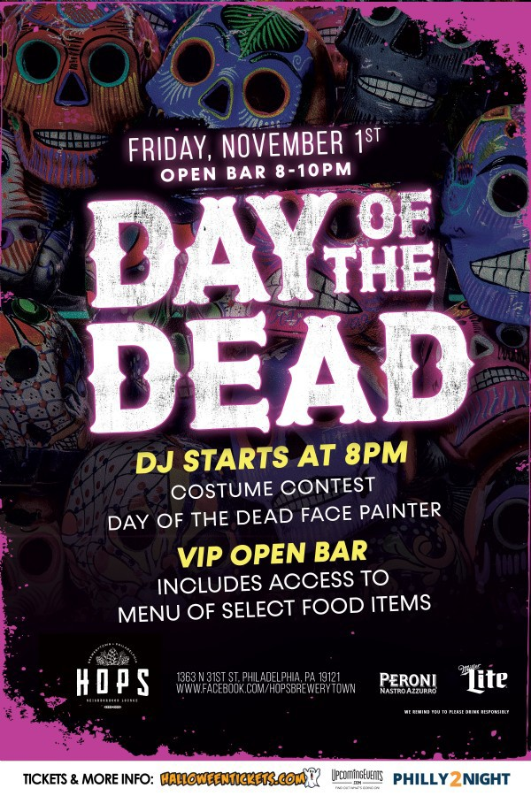 Day of the Dead @ Hops Brewerytown