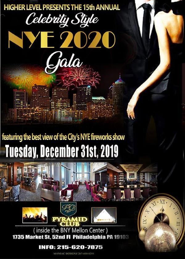15th Annual 'Celebrity Style' NYE Fireworks Gala