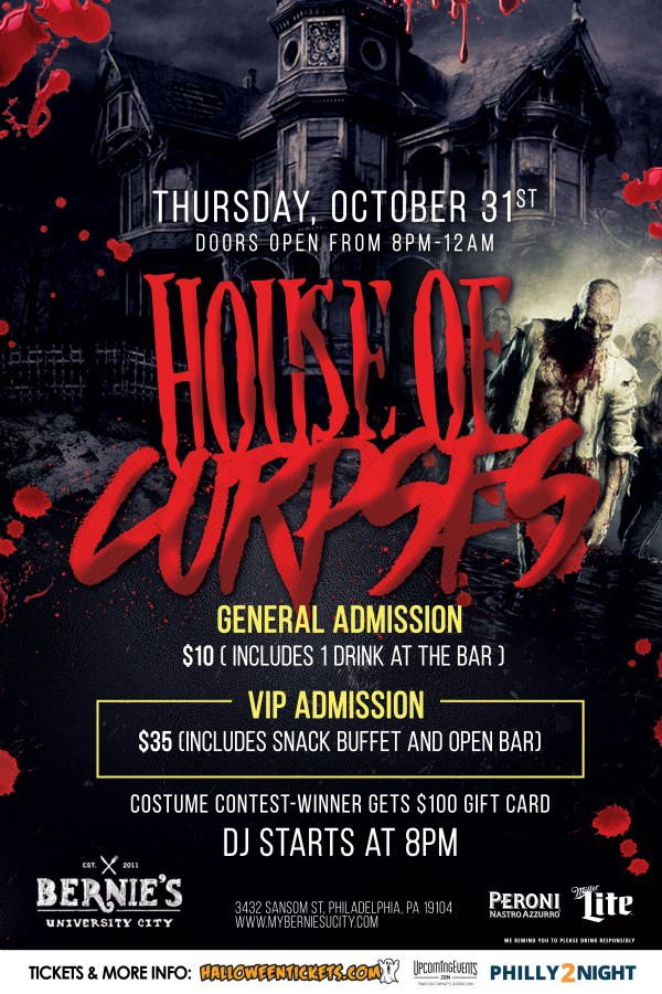 Bernie's House of Corpses - Halloween Night
