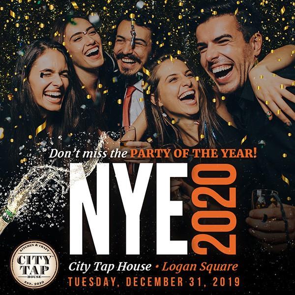 NYE 2020 at City Tap House Logan Square