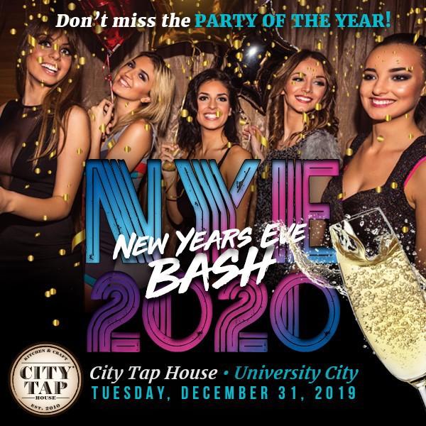 NYE 2020 at City Tap House University City
