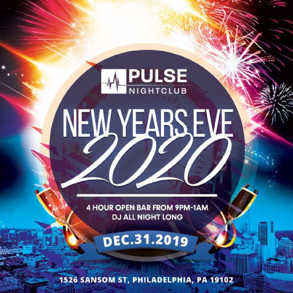 New Years Eve 2020 at Pulse