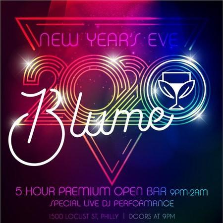 NYE 2020 at Blume