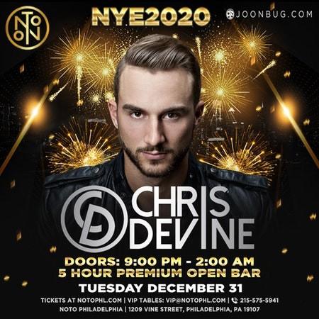 NYE 2020 at NOTO Philadelphia