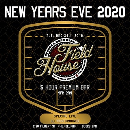 NYE 2020 at Field House