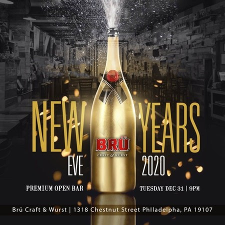 NYE 2020 at Bru Craft & Wurst