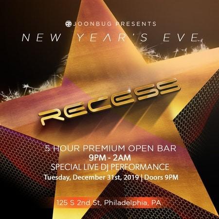 NYE 2020 at Recess Lounge