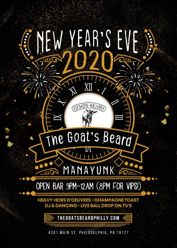 NYE 2020 at Goat's Beard