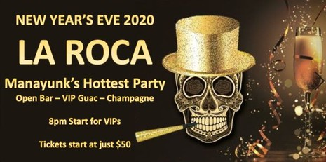 New Years Eve at La Roca 2020