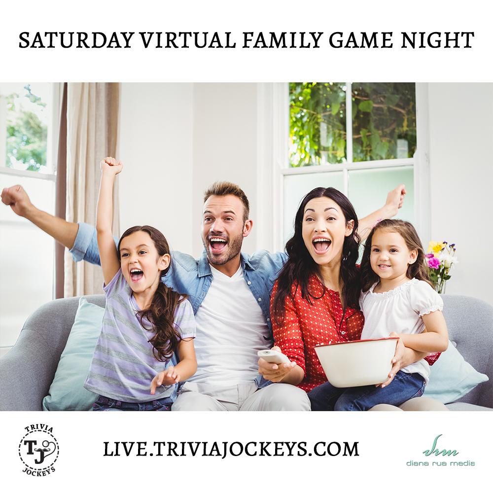Saturday Virtual Family Game Night