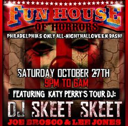 Fun House of Horrors at Zee Bar