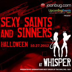 Sexy Saints & Sinners at Whisper
