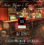New Year's Eve Philly 2013 at Ladder 15!