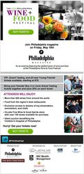 The Philadelphia Wine + Food Festival