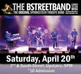 The BSTREETBAND, A Tribute to the Boss!