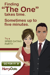 HurryDate Boston Speed Dating - Men and Women Ages 40-55