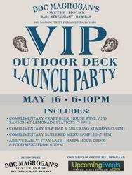 VIP Outdoor Deck Launch Party