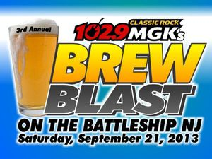 102.9 WMGK's 3rd Annual Brew Blast on the Battleship