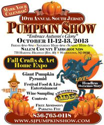 South Jersey Pumpkin Show Fall Festival