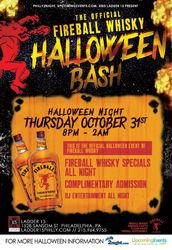 The Official Fireball Whisky Halloween Bash!