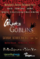 6th Annual Ghosts + Goblins Halloween Party in Manayunk