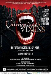 8th Annual Vampires + Vixens Halloween Party