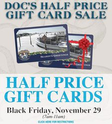 The Ultimate Black Friday Half-Price Gift Card Sale!