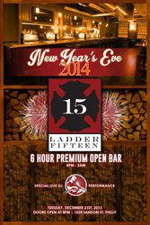 New Year's Eve 2014 at Ladder 15