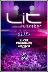 New Year's Eve 2014 at Lit UltraBar