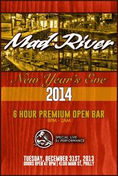 New Year's Eve 2014 at Mad River Bar & Grille (Manayunk)