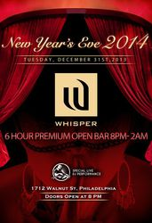New Year's Eve 2014 at Whisper