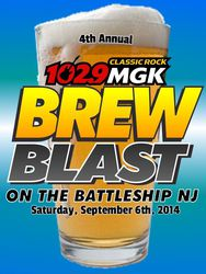 102.9 WMGK's 4th Annual Brew Blast on the Battleship