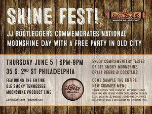 Shine Fest - Free Moonshine Day Party!