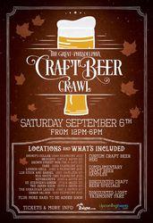 The Great Philadelphia Craft Beer Crawl