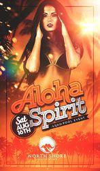 Aloha Spirit ★ Luau Pool Party