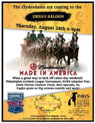 The Clydesdales Are Coming - Made In America Street Festival