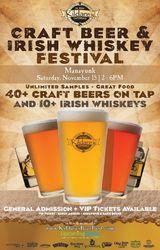 Kildare's Manayunk Craft Beer and Irish Whiskey Festival