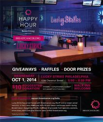 Charity Happy Hour Benefiting BreastCancer.org