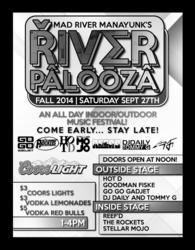 River Palooza Fall Edition - Manayunk Music Festival