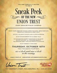 VIP 'Sneak Peek' Preview Party at the New Union Trust