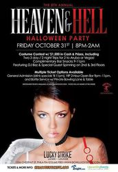 8th Annual Heaven & Hell Halloween Party