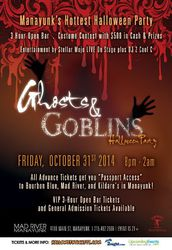 7th Annual Ghosts & Goblins Halloween Party in Manayunk