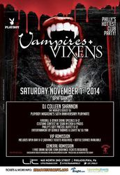 9th Annual Vampires + Vixens Halloween Party