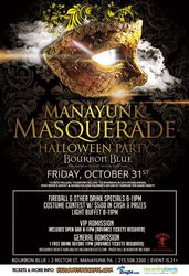 Manayunk Masquerade Halloween Party