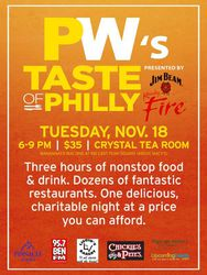 TASTE of Philly - The 8th Annual Culinary Sampling Experience!